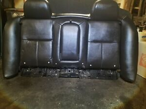 08 09 10 11 12 13 Chevy Impala Rear Upper Seat Leather Oem