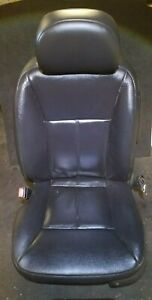 08 09 10 11 12 13 Chevy Impala Front Left Driver Seat Black Leather Oem 84k