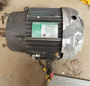 Phase Converter Rotary 7 5hp Lincoln Tefc Replacement For Odp