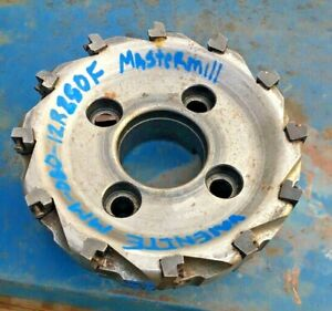 Valenite Mm 080 12r250f 8 Mastermill Milling Cutter Face Slab Mill 4 Bolt Mx467