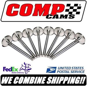 Comp Cams Sbc 1 600 X 5 111 Sportsman Stainless 11 32 Exhaust Valves 6012 8