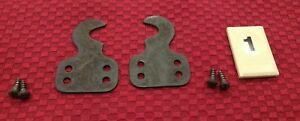 Vtg Singer Treadle Sewing Machine Part 1920 S Drawer Hook Brackets Screws B1