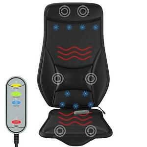 Gideon Car Home Seat Massager Heating Cooling Cushion Temp Controller 12v