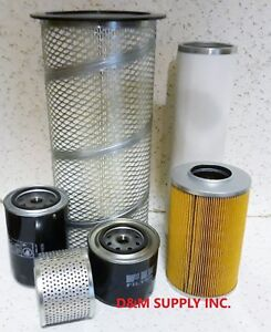 Ford New Holland Diesel Tractor Filter Kit For 555a 555b 655 655a After 81