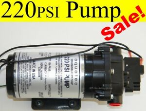 Carpet Cleaning 220 Psi Aquatec Extractor Pump 115volt