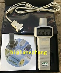 Handheld Digital Tachometer Range 10 00 99 999 Rpm Distance 50 300mm Rs232 1501