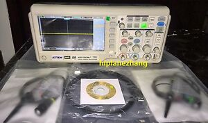 Memory Depth 2mpts Oscilloscope 100mhz 2ch 1gs s 7 Tft Lcd Usb Ads1102cml