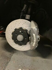 2010 Mercedes E63 Amg W212 Oem Brembo Brake Calipers Front Rear Silver