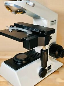 Demo Xy Mechanical Stage W Specimen Holder For Olympus Ch 20 30 Microscopes