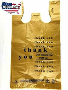 T shirt Plastic Shopping Bag Wholesale Bulk Supply 12x6x21 Grocery Carry Out Bag