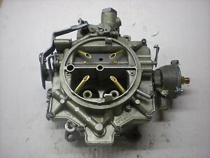 Rochester 4gc Carburetor 1959 1966 Chevy Cars 283 327 348 Engine