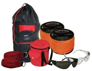Tree Throw Line Kit two Rope Bags 2 Throw Lines 2 Throw Bags glasses 100 Value