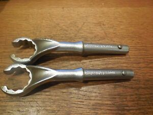 Snap On 1 1 4 Heavy Duty Offset Tubular Flare Nut Line Wrench X400a