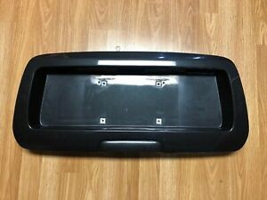 2002 2009 Chevy Envoy Rainier Trail Blazer License Plate Panel Tail Gate Black