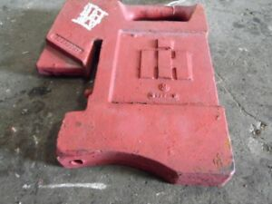 International Harvester Tractor Front Suitcase Weight 75 Lbs Tag 428