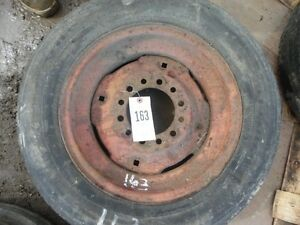 15 Rim With 6 Lug Wheel Hub With Car Tire Tag 163