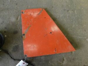 Allis chalmers 210 Tractor Lh Rear Side Panel Tag 678