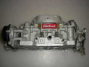 Edelbrock 1406 600 Cfm Square Bore Carburetor Electric Choke