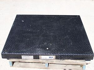 Mettler Toledo Vlx 48 X 48 Platform Scale Base Only 2 500 Lb Capacity