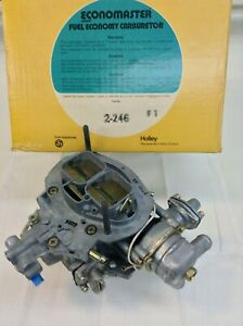 Nos Holley 5200c Carburetor R7790 1974 Ford Pinto Mustang Ii 4 Cylinder