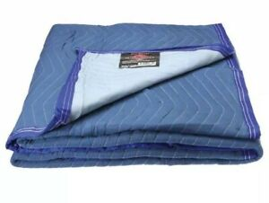 Heavy Weight Moving Blankets Soft Comfortable Microfiber Fabric Body Warmer Blue