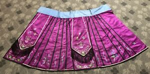 Antique Chinese Qing Dynasty Hand Embroidery Summer Skirt