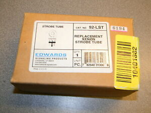 Edwards 92 lst Replacement Strobe Tube 90 92 And 95 Series Xenon Beacons New