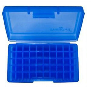 Frankford Arsenal 508 .45 ACP Flip Top Ammo Box 50 Rounds Plastic Blue (10 Pack)