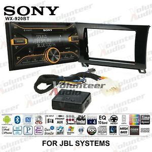 Sony Wx 920bt Double Din Cd Player Car Radio Install Mount Kit Bluetooth