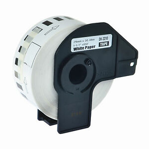 30roll Dk 2210 Continuous Address Labels Frame Compatible For Brother Ql 500