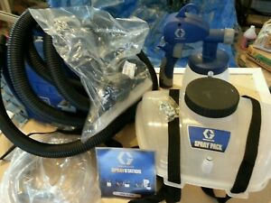 Graco Hv3900 Spray Station Never Been Used Bought To Paint My House then Hired