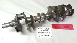 454 Chevy Forged Steel Crankshaft 010 Rods And Mains