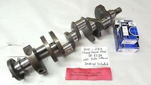 Z28 302 Or 283 Chevy Forged Crankshaft 040 Rods Mains Bearings Included
