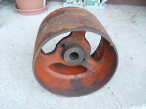 Allis Chalmers Wc Tractor Original Flat Belt Pulley 9 Inch Diameter