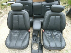 98 Jeep Grand Cherokee 5 9 Limited Leather Seats Console Door Panels Trim Cards