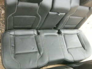 12 Ford Taurus Black Leather Rear Seat