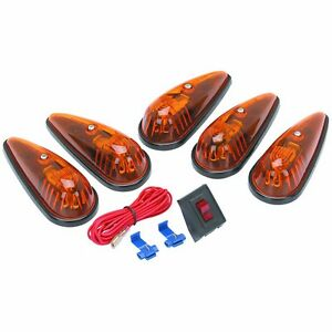 Truck Roof Cab Lights Turn Signals Tear Drop Rat Rod Custom Hot Rod Pickup