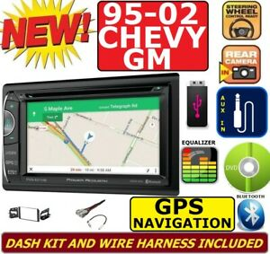 95 02 Gm Truck Suv Dvd Cd Gps Navigation Bluetooth Double Din Car Stereo Radio