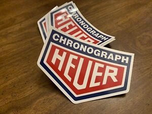 Chronograph Heuer Vintage Decal Sticker Porsche Bmw Classic Retro Race Vw