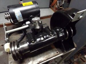 Dumore 25 022 Model 8316 3hp 3phase Tool Post Grinder For Large Lathe Nice