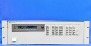 Agilent Hp Keysight 6626a Dc Power Supply Programmable Quad Output 50w Untested