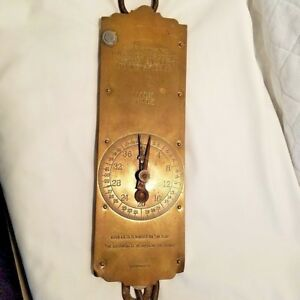 Vintage Milk Scale Chatillon S Spring Balance To 120 Lbs