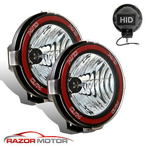 2pcs 4 Inch 4x4 Off Road Hid Light 6000k Xenon Fog Driving Lamp Version 2