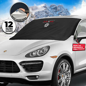 Snow Cover Windshield For Ice Universal Fit Car Van Trucks Window Protector