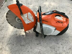 Stihl Ts 420 Concrete Cut Off Saw W diamond Blade Water Kit Aa
