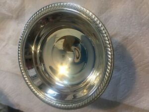 International Sterling Weighted 6 Compote Candy Dish