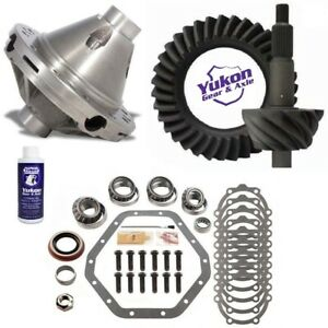 89 97 Chevy 14 Bolt Gm 10 5 4 88 Ring And Pinion Powergrip Posi Yukon Gear Pkg