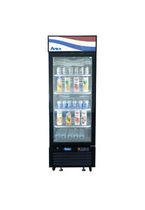 Atosa Mcf8725gr Bottom Mount One Glass Door Refrigerator