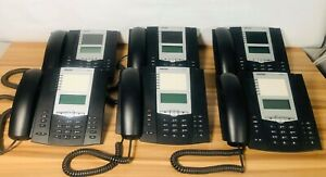 Lot Of 6 Aastra 6753i Rp Voip Office Phones