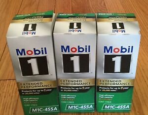 New 3 Mobil 1 M1c 455a Extended Performance High Efficiency Oil Filter